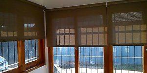 Tela Transparente SunScreen o BlackOut Cortinas Neuquén