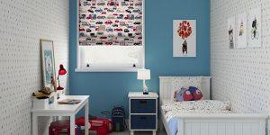 Cortinas Roller BlackOut en Habitación de Niños en Neuquén